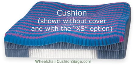 Stimulite Contoured Wheelchair Cushion