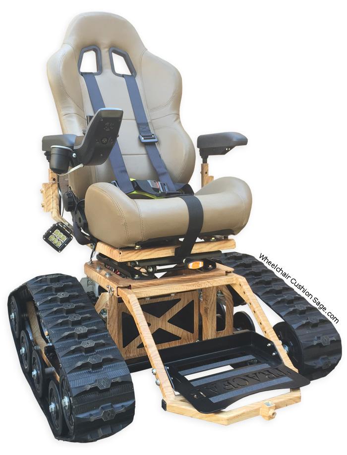 AllTerrain Wheelchair by TracFab – All Terrain Chair
