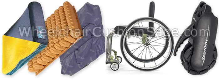 Wheelchair Cushions and Accessories