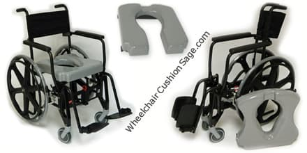 ActiveAid Shower Commode Wheelchair Shadow 9000