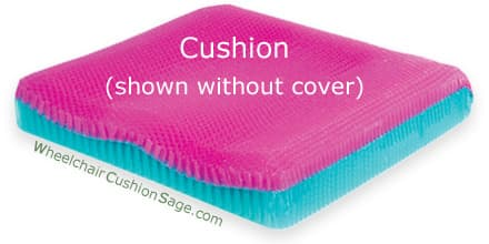Stimulite Pediatric Contoured Wheelchair Cushion