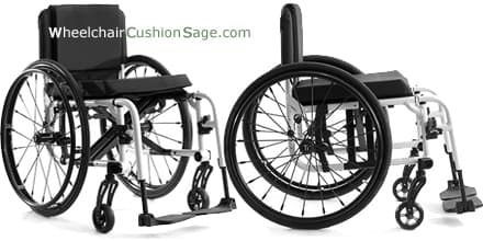 TiLite Aero X Wheelchair